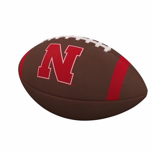 NCAA Nebraska Cornhuskers Team Stripe Official-Size Composite Football - image 1 of 1