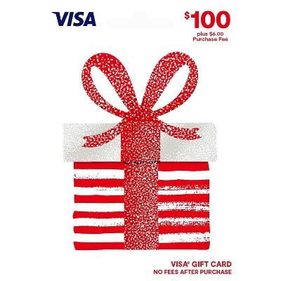 Visa Gift Card - $100 + $6 Fee
