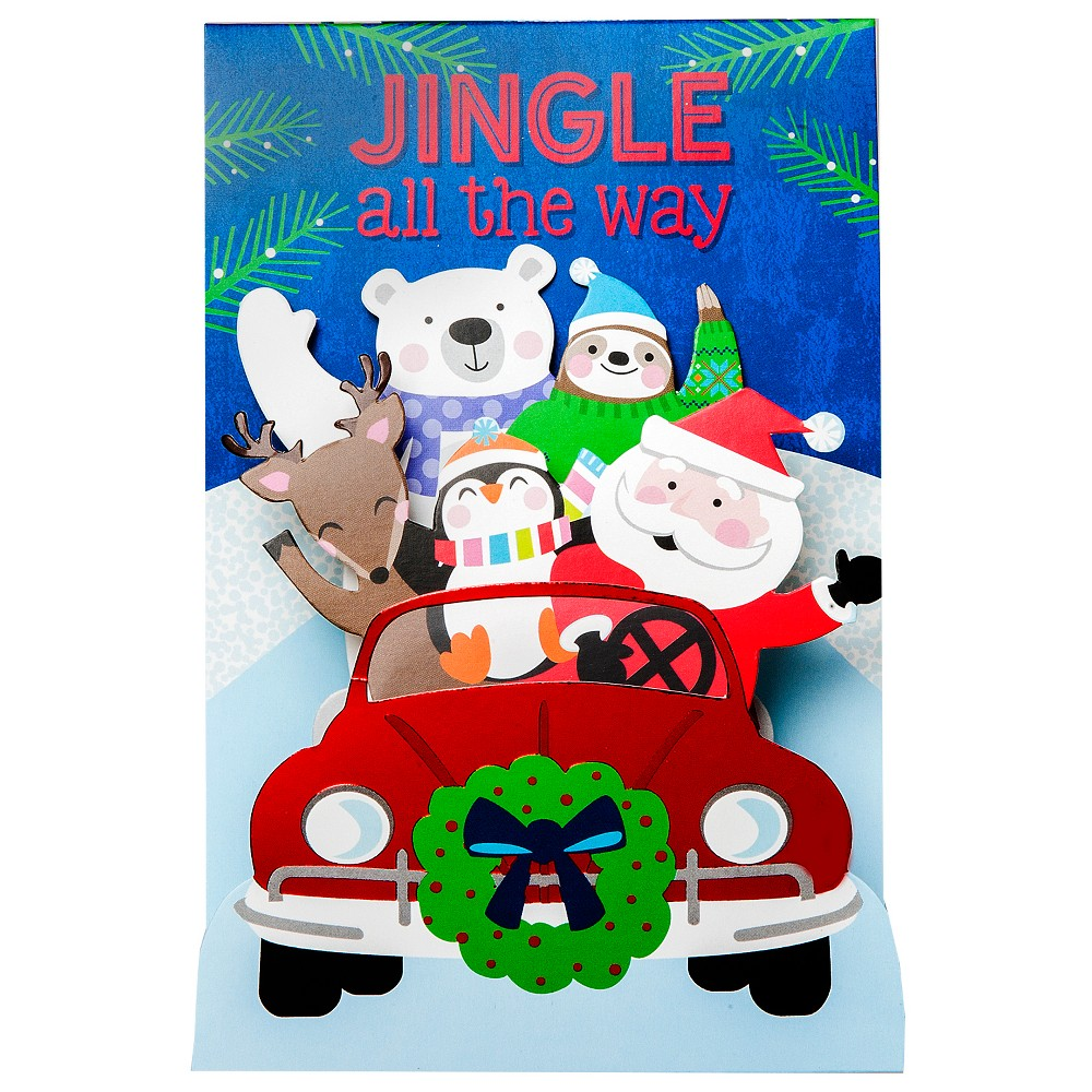 Best Pop Up Friends Holiday Boxed Cards 8ct International Greetings Multi Colored