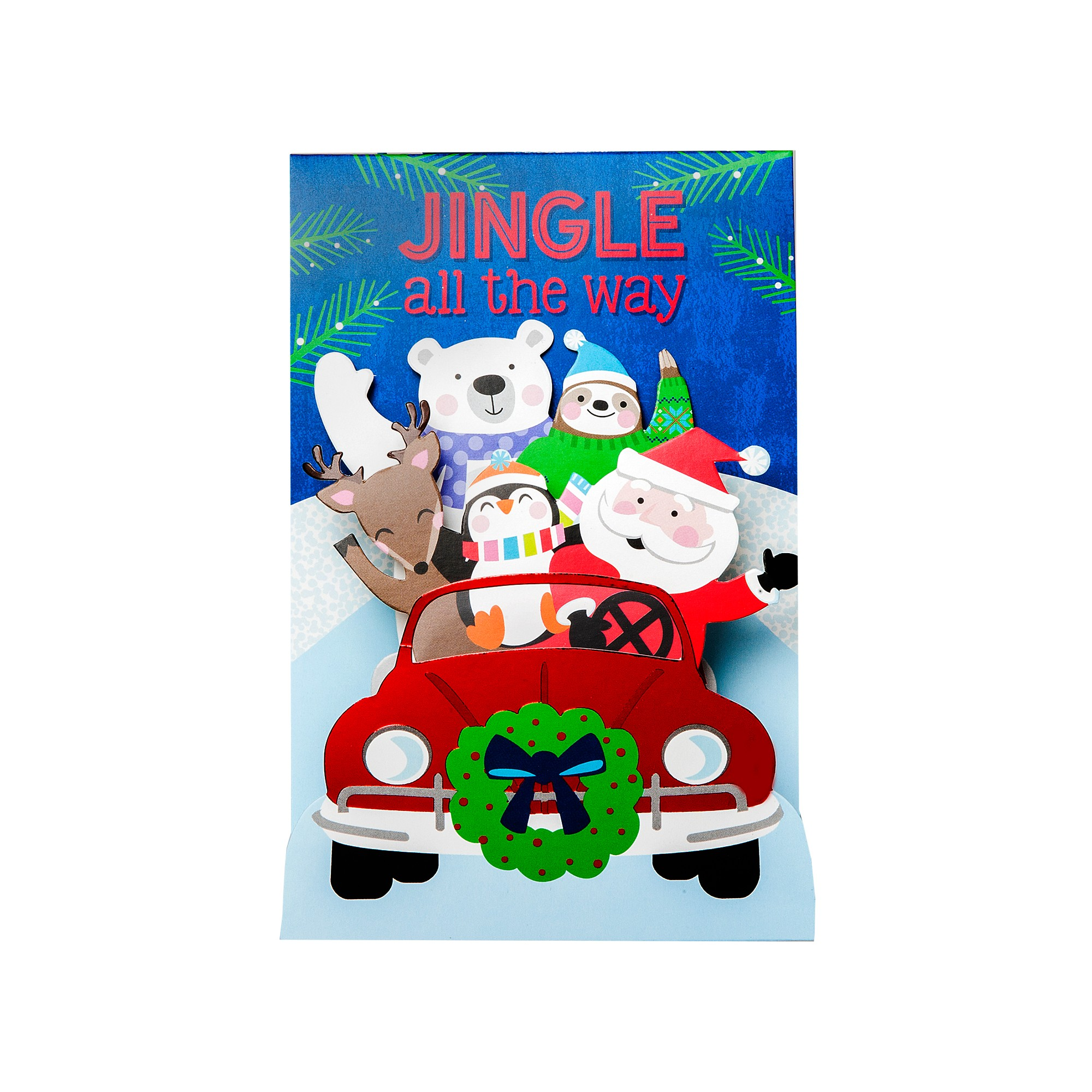 Pop Up Friends Holiday Boxed Cards 8ct-International Greetings, Multi-Colored