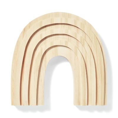 Freestanding Wood Rainbow - Mondo Llama™