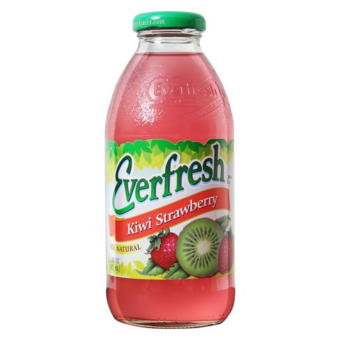 Everfresh Kiwi Strawberry - 16 fl oz Glass Bottle - image 1 of 1
