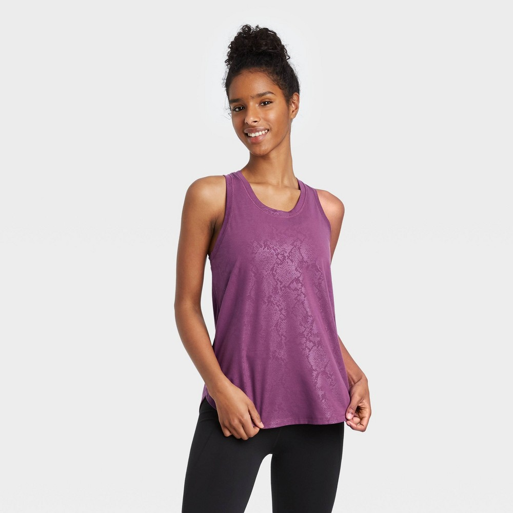 Women 39 S Active Tank Top All In Motion 8482 Purple M