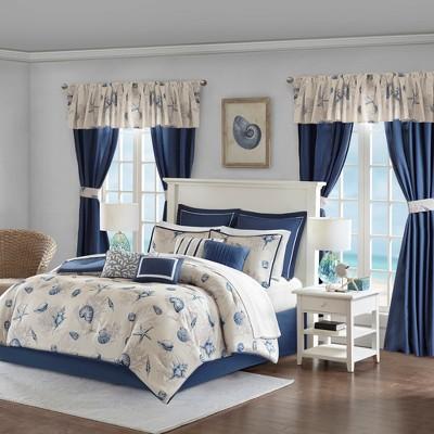 Blue Montauk Room In a Bag (Queen)24pc
