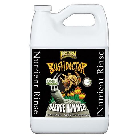 FoxFarm FX14067 Bush Doctor SledgeHammer Fertilizer Buildup Plant Rinse, 1 Gal - image 1 of 1