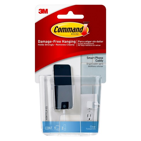 Command™ Clear Smart Phone Caddy, 1 Caddy/Pack - image 1 of 5