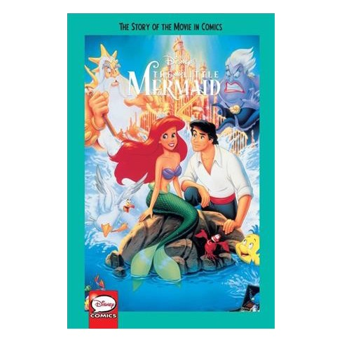 disney the little mermaid the story of the movie in comics