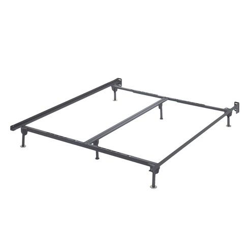 Frames And Rails Bolt On Bed Frame Black (Queen/King/Cal King