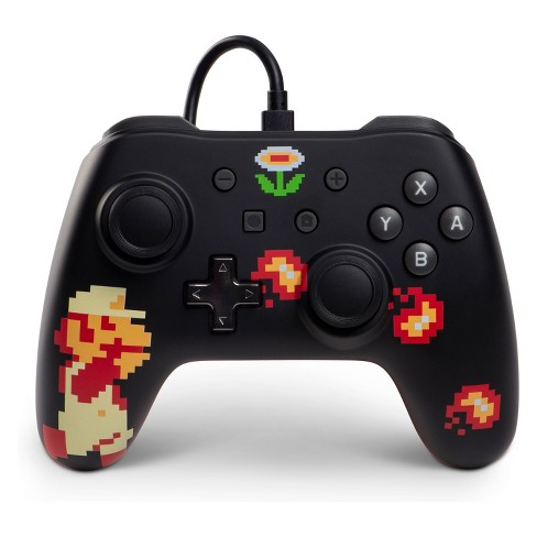 PowerA Wired Controller for Nintendo Switch - Retro 8-Bit Super Mario - image 1 of 4