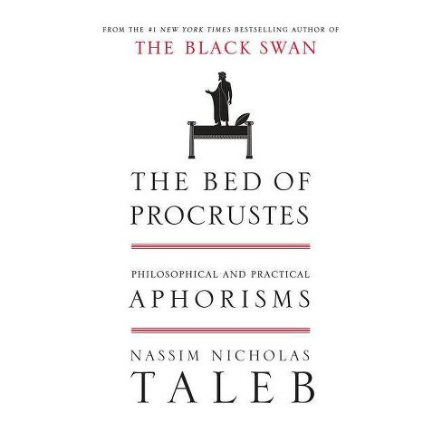 The Bed of Procrustes - (Incerto) by  Nassim Nicholas Taleb (Hardcover) - image 1 of 1