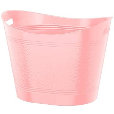 Bella Storage 17gal Toy Utility Bucket Pink