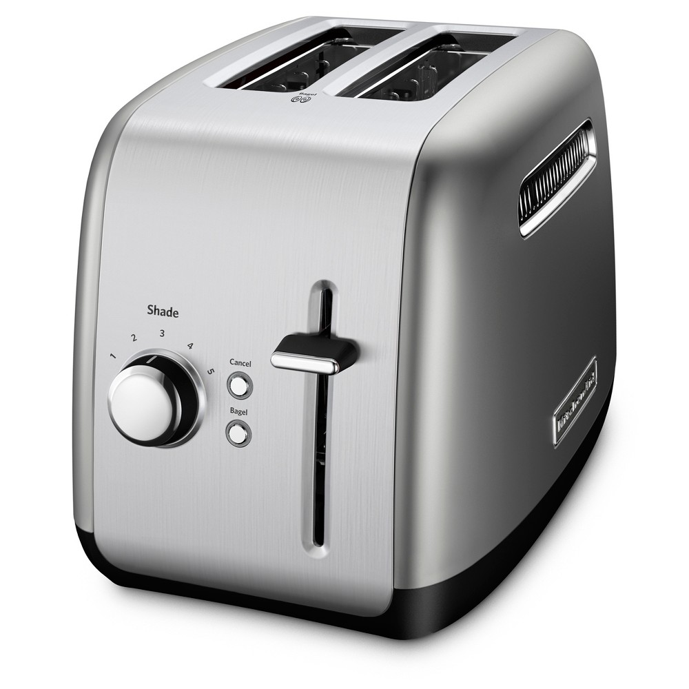 KitchenAid Refurbished 2 Slice Toaster – Contour Silver RKMT2115CU 53497495