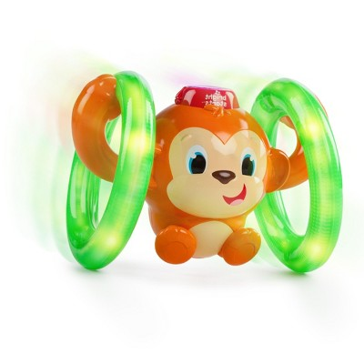 Bright Starts Roll and Glow Monkey Baby and Toddler Learning Toys