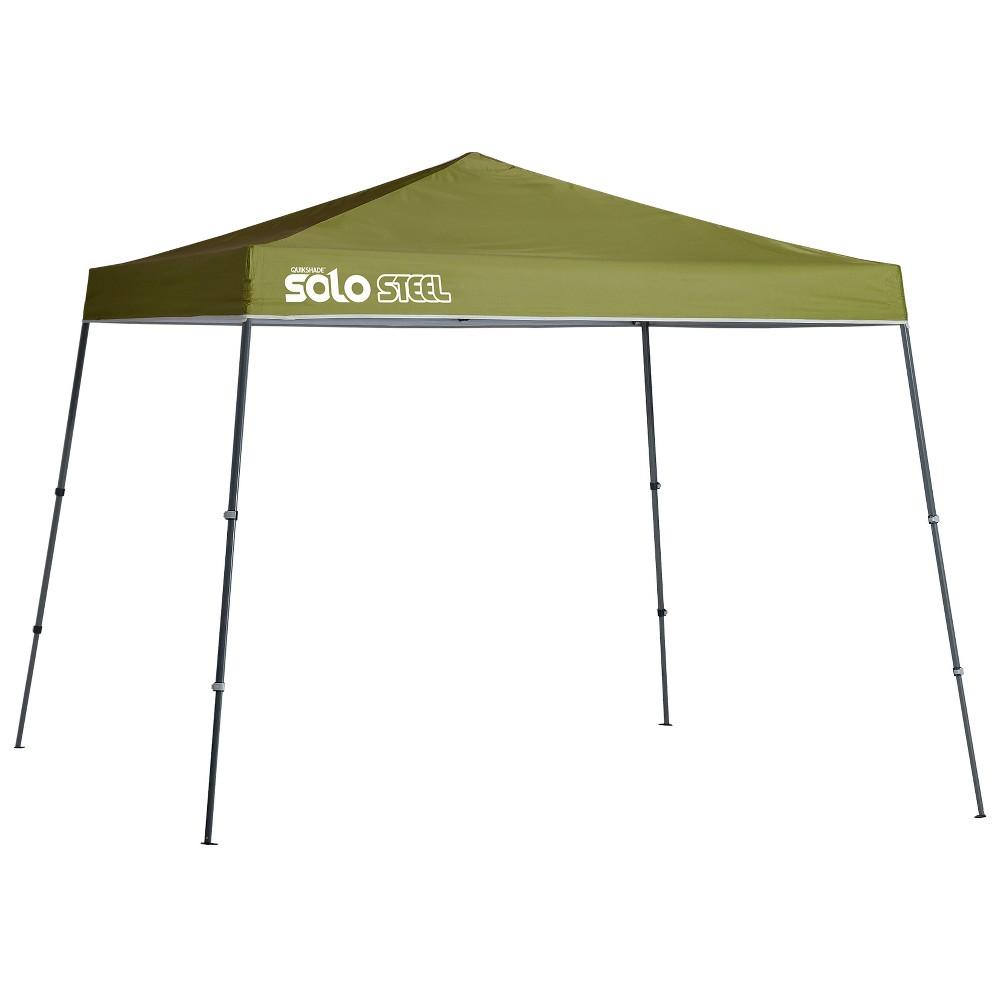 Quik Shade Solo Steel 72 11 x 11' Slant Leg Canopy - Green