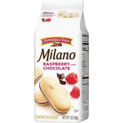 Pepperidge Farm Milano Raspberry Cookies - 7oz Bag
