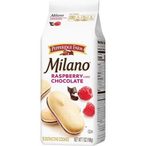 Pepperidge Farm Milano Raspberry Cookies 7oz Bag Target