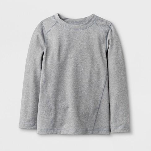 f3608a3589bf3 Toddler Boys' Long Sleeve Rash Guard - Cat & Jack™ Gray : Target