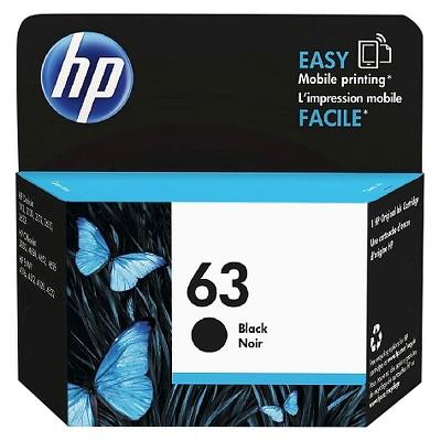 HP 63 Single Ink Cartridge - Black (F6U62AN_140)