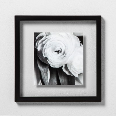 Single Image Float Frame Black 8 x8  - Made By Design™