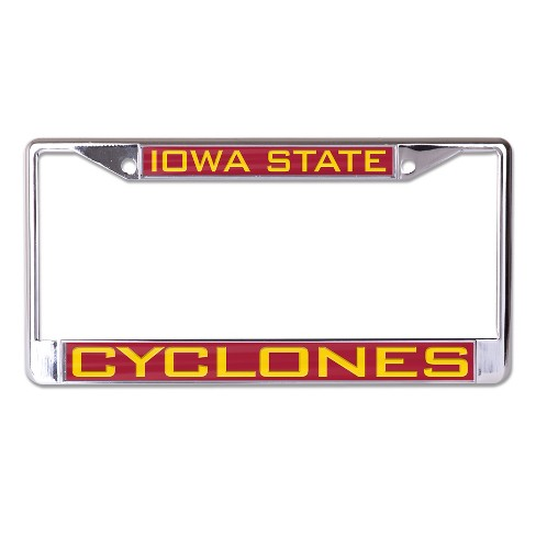 NCAA Iowa State Cyclones License Plate Frame : Target
