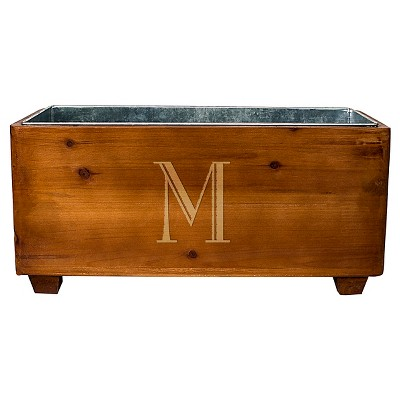 Cathy's Concepts Personalized Wooden Wine Trough - M