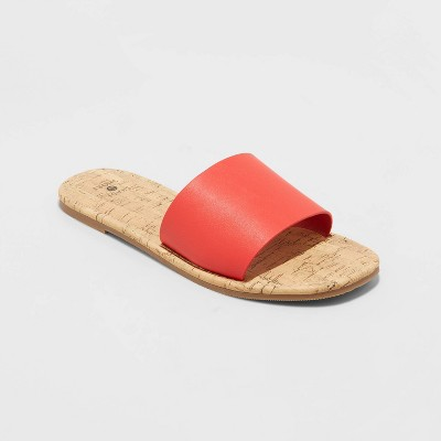Women's Melany Square Toe Slide Sandals - Shade and Shore™