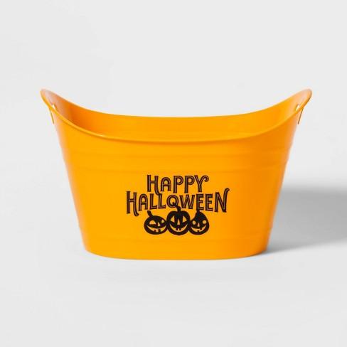 Happy Halloween Plastic Beverage Tub - Hyde & EEK! Boutique™ - image 1 of 2