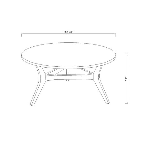 Coffee Table Pick Up Line.Emmond Two Tone Mid Century Modern Coffee Table Project 62