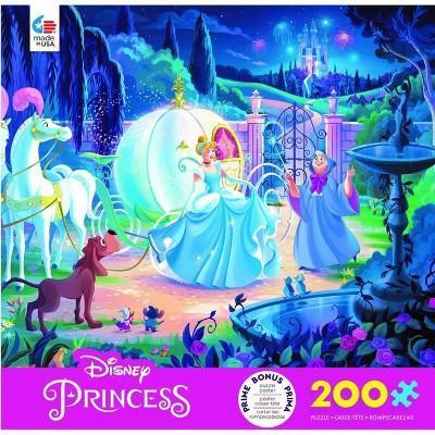 Ceaco Disney Friends: Cinderella's Carriage Jigsaw Puzzle - 200pc