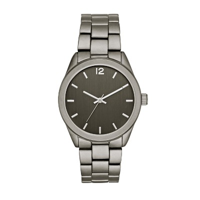 Men's Matte Bracelet Watch - Goodfellow & Co™ Gunmetal