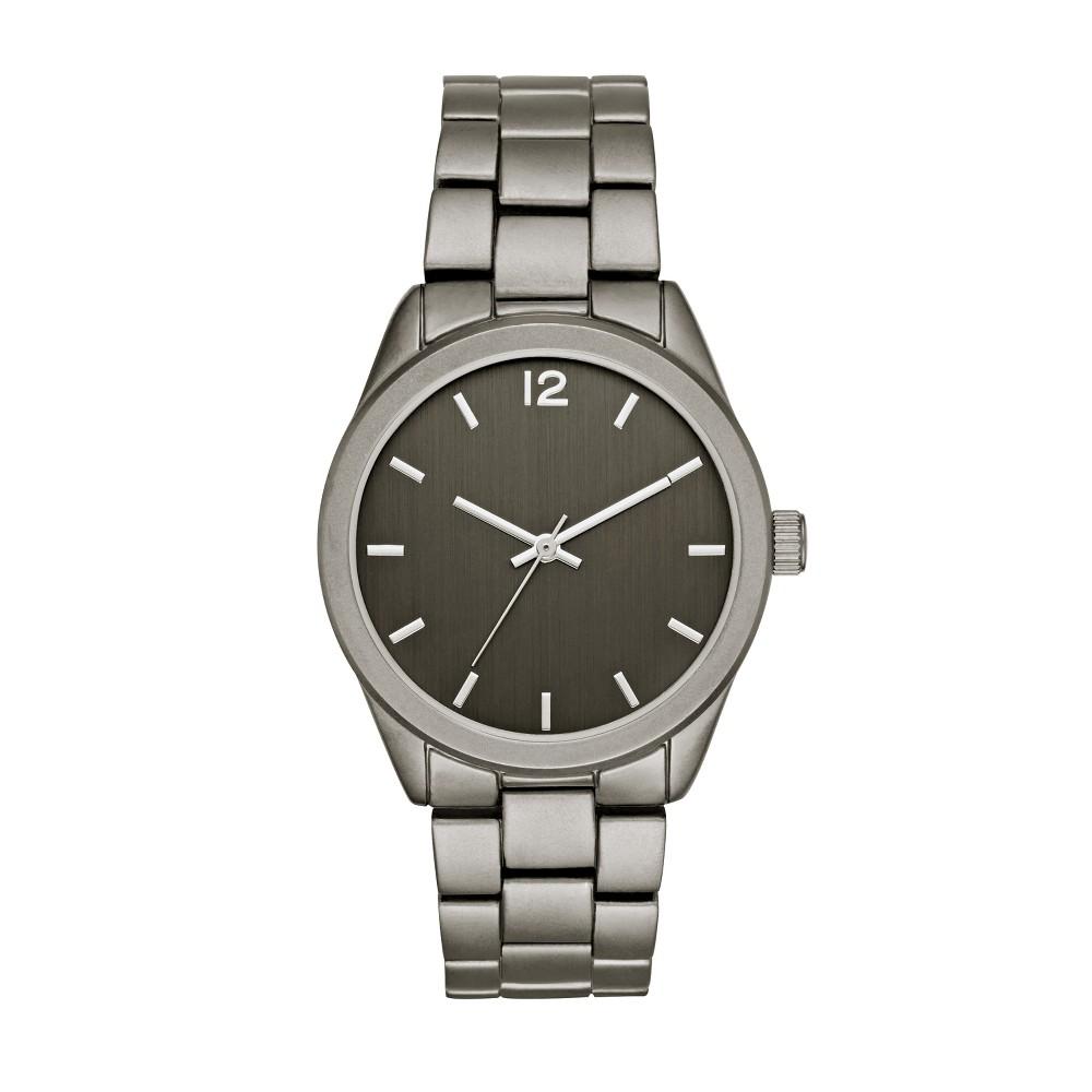 Men S Matte Bracelet Watch Goodfellow Co 8482 Gunmetal
