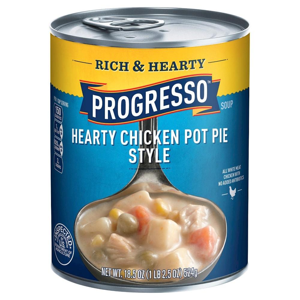 Progresso Rich & Hearty Chicken Pot Pie Style Soup 18.5 oz