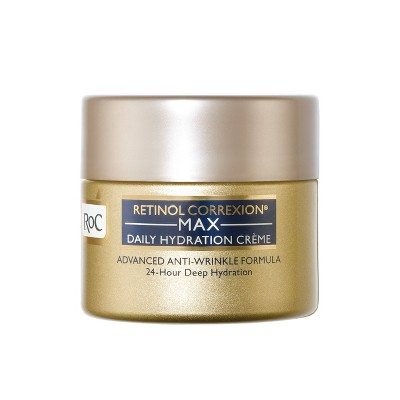 RoC Retinol Correxion Max Daily Hydration Anti-Aging Cream - 1.7oz
