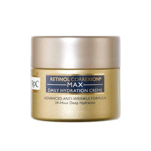 RoC Retinol Correxion Max Daily Hydration Anti-Aging Cream - 1.7oz - image 1 of 4