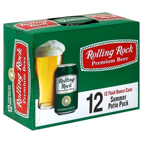 Rolling Rock Premium Beer - 12pk/12 fl oz Cans - image 1 of 1