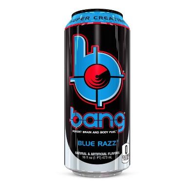 BANG Blue Razz Energy Drink - 16 fl oz Can