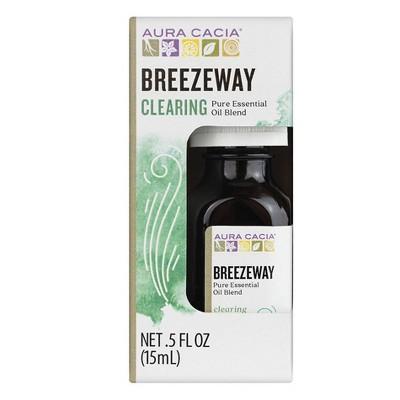 Aura Cacia Breezeway Pure Essential Oil Blend - 0.5 fl oz