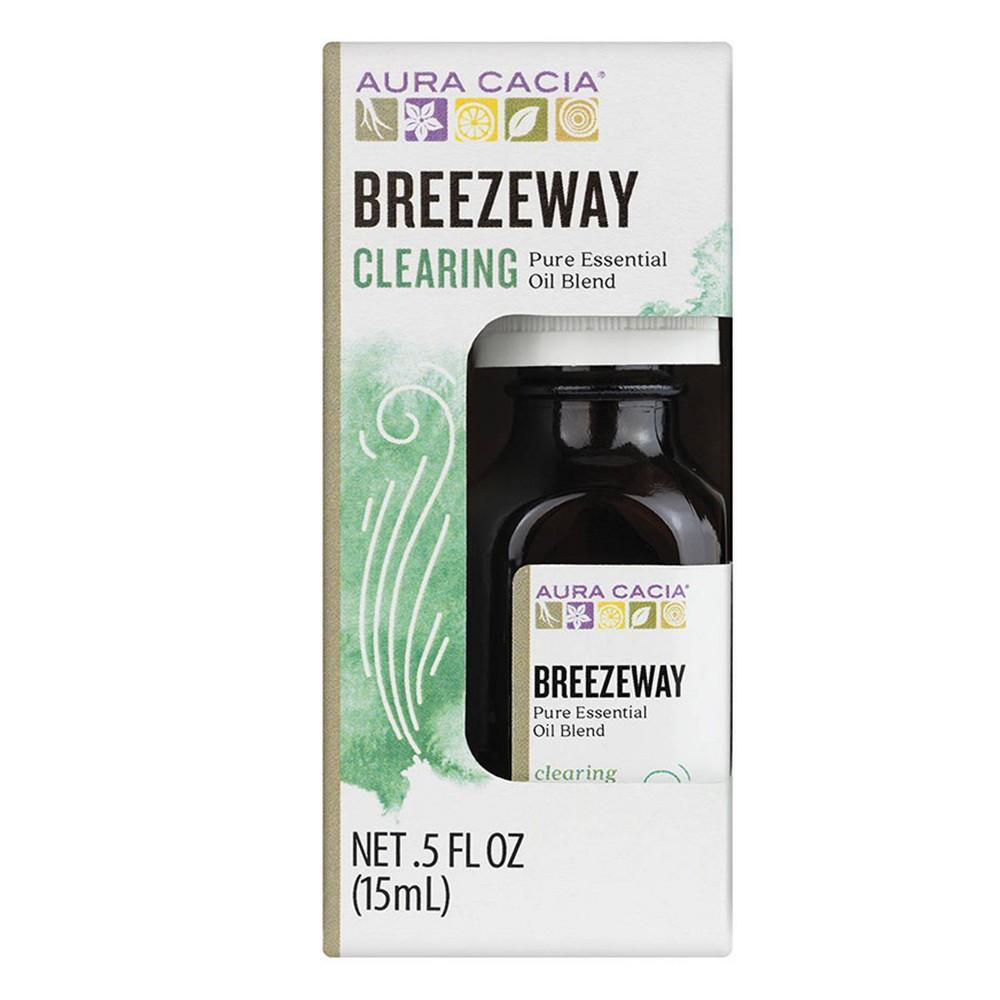 Image of Aura Cacia Breezeway Pure Essential Oil Blend - 0.5 fl oz