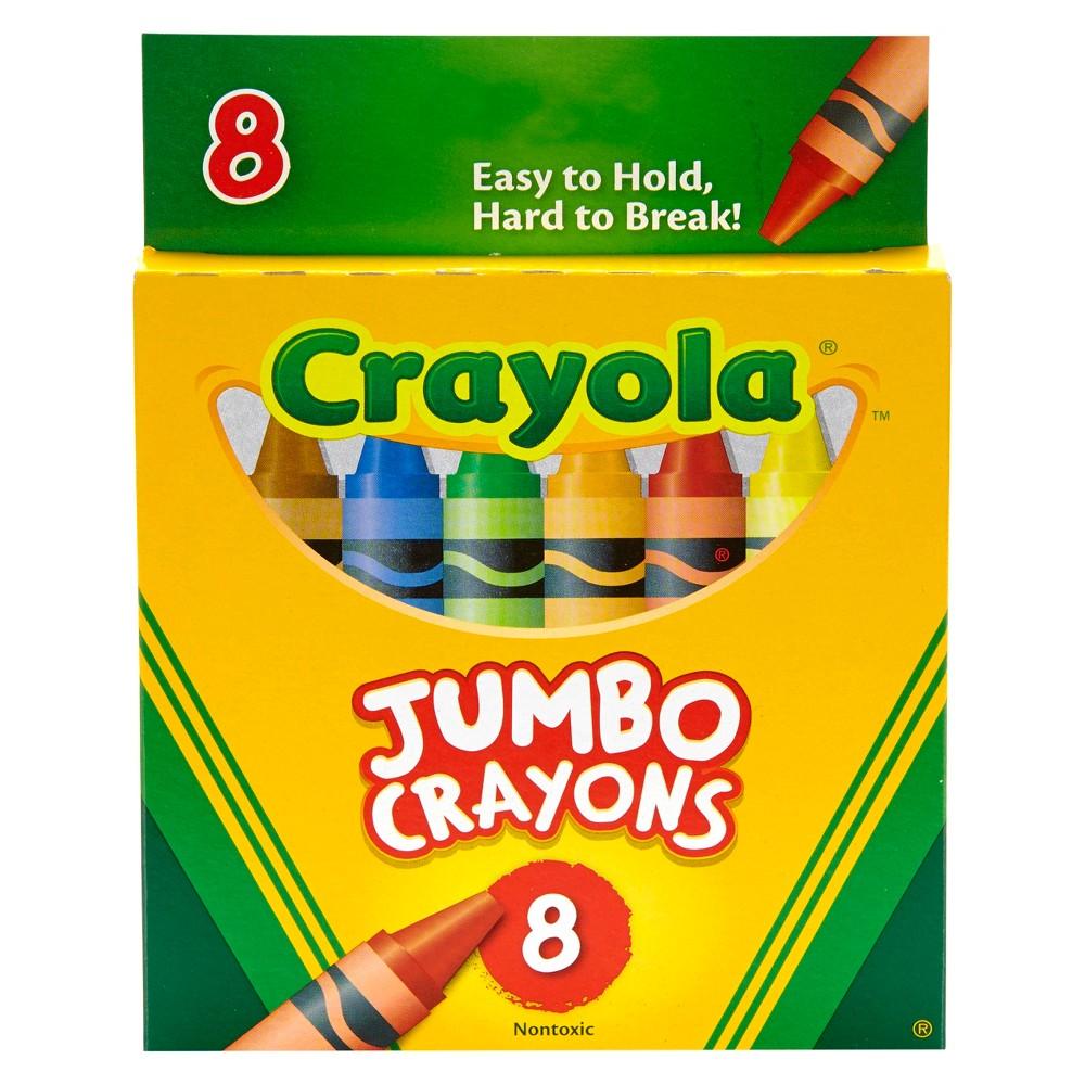 Image of Crayola 8ct Jumbo Crayons