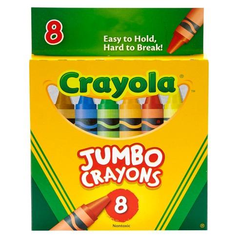 Crayola 8ct Jumbo Crayons - image 1 of 4