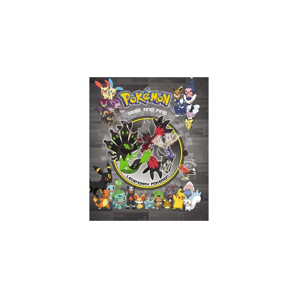 Pokemon Seek and Find : Legendary Pokemon - (Pokemon) (Hardcover) Pokemon Seek and Find : Legendary Pokemon - (Pokemon) (Hardcover)