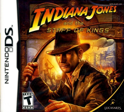 Indiana Jones and The Staff Of Kings PRE-OWNED Nintendo DS - image 1 of 1