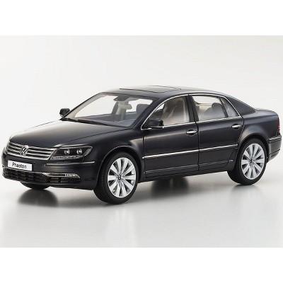 Volkswagen Phaeton Mazzepa Grey 1/18 Diecast Model Car by Kyosho