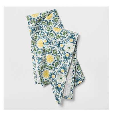 Blue/Green Medallion Kitchen Towel - Opalhouse™