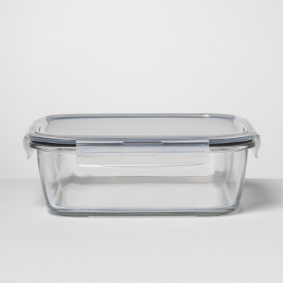 Square Glass Food Storage Container 10.6 cup - Made By Design™
