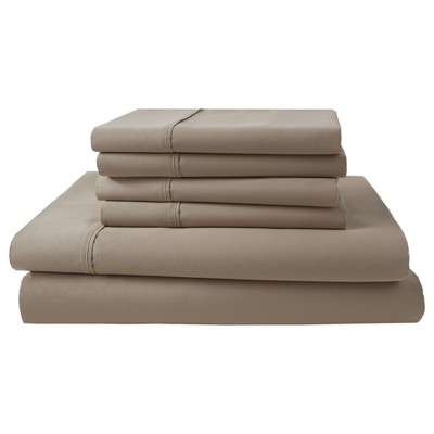 Park Ridge 1000 Thread Count Sheet Set (Queen)Linen - Elite Home Products