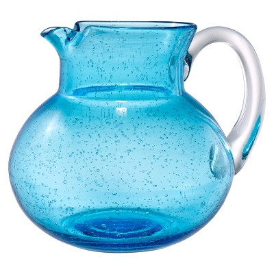 Artland Iris 2.7L Glass Pitcher Light Blue