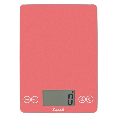 Escali Glass Arti Digital Kitchen Scale Pink