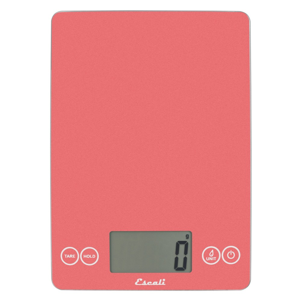 Image of Escali Glass Arti Digital Kitchen Scale Pink