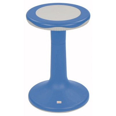 """Kaplan Early Learning 20"""" K'Motion Stool - Primary Blue"""